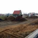 Grundstück Anfang März