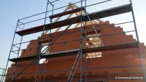 Dachkonstruktion Giebelseite