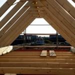 Kehlbalken Dachkonstruktion