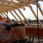 Dachstuhl im Detail