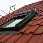 Dachfenster mit Rollo