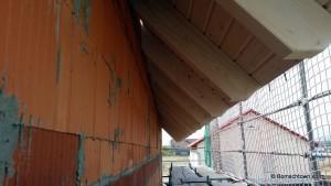 Dachüberstand Rohbau
