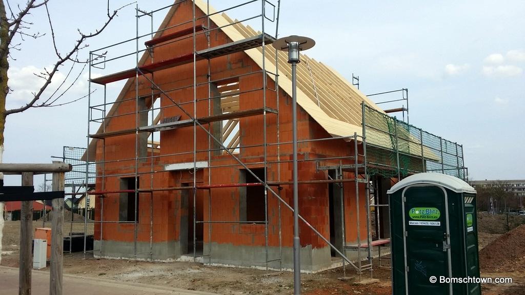 Verschalung Dachkonstuktion