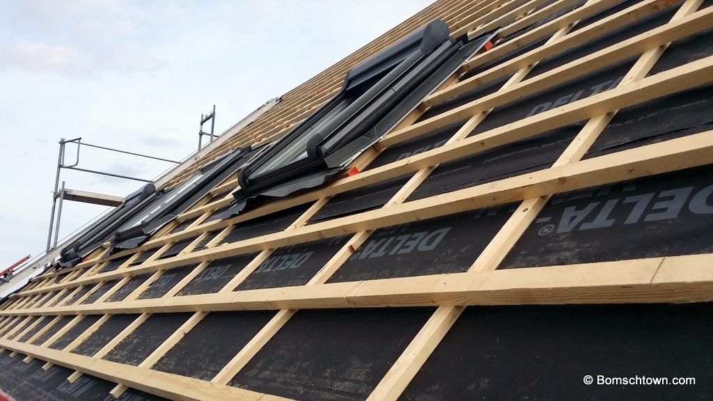 Dachfenster Montage vor Dacheindeckung