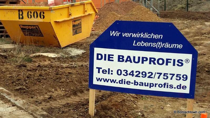 Die Bauprofis Bauschild