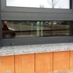 Küchenfenster mit Unterlicht