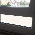Küchenfenster mit Unterlicht geschlossen