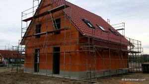gedecktes Dach und Dachfenster