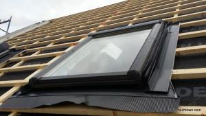 Roto Dachfenster ohne Rollo
