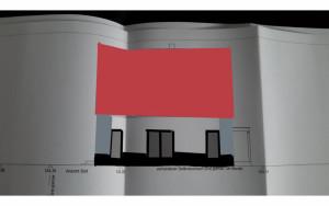 Terrassenansicht Fassade