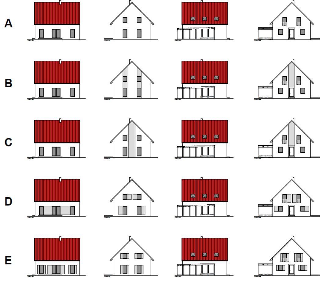 Welche Hausfarbe Zu Rotem Dach außenputz hausbau in bomschtown
