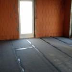 Bitumenschicht Erdgeschoss