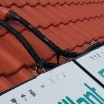 Dachanschluss Solarkollektor
