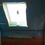 Dachfenster gedämmt