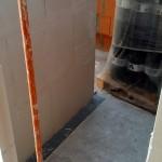 Eingang zum Abstellraum