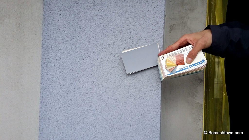 A9260 Farbkarte Hauswand