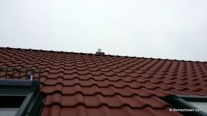 Schornstein über Dach