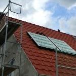 Warmasser auf Dach