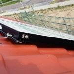 Detailaufnahme der Solarkollektoren