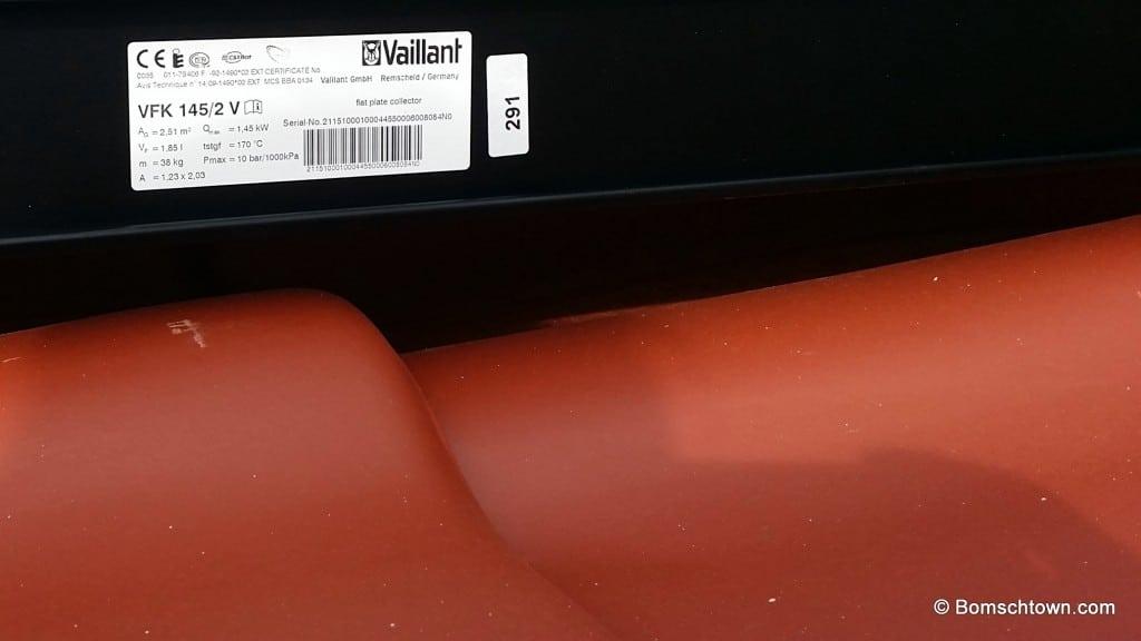 Typenschild Vaillant VFK 145