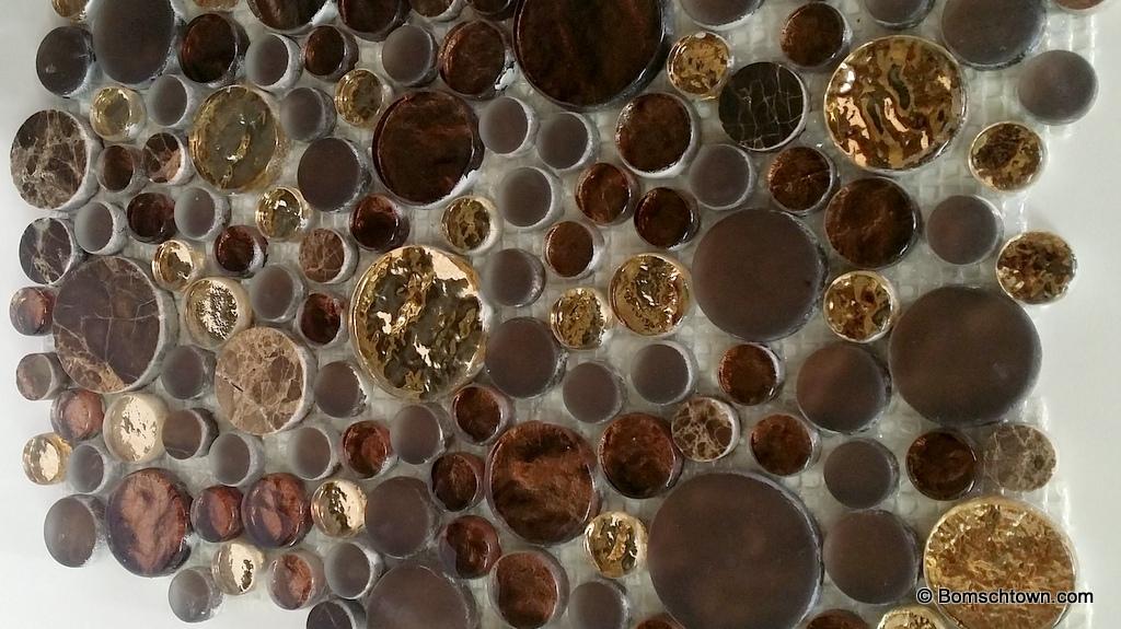 Fliesen Bemusterung Hausbau In Bomschtown - Fliesen mosaik rund