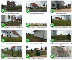 Lageplan in Bildern ausgedrückt