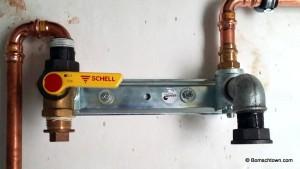 Gaszähler Position