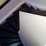 Treppe - beleuchtet via Handlauf
