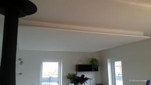 Decke abgehangen rechteck