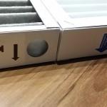 Der Original-Filter hat Löcher vorn und hinten