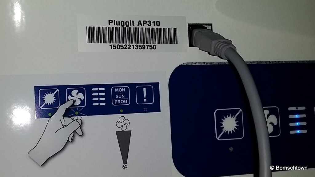 Lüftungsanlage via USB einstellen
