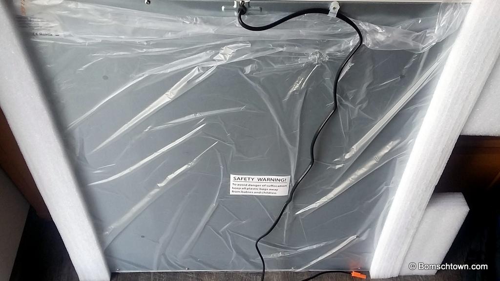 Rückseite LED-Panel