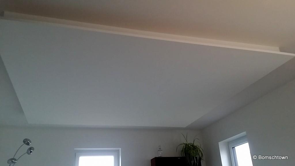 Quadratisch Abgehangene Decke