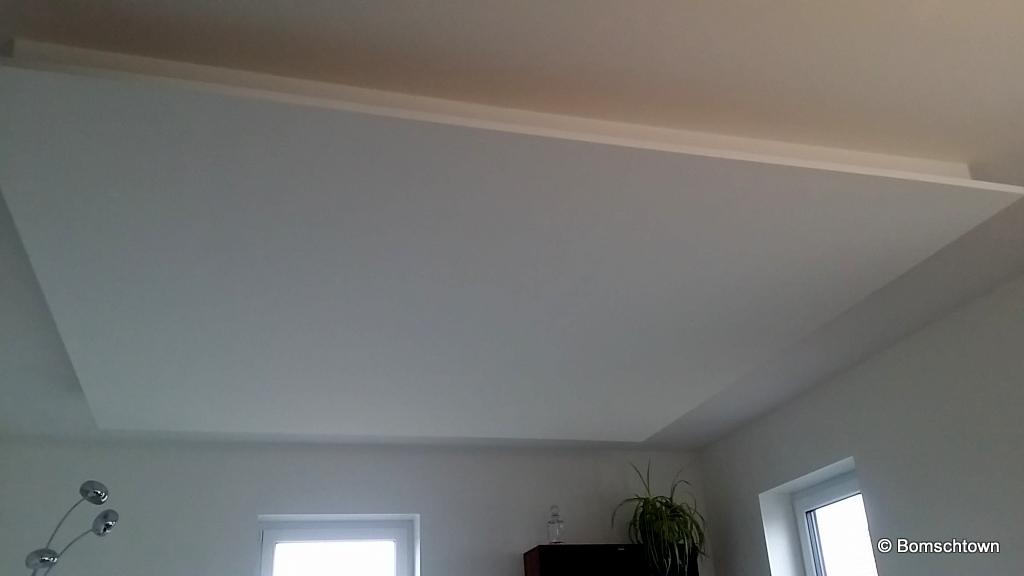 Beleuchtung Wohnzimmer Abgehangene Decke Hausbau In Bomschtown