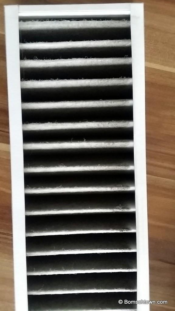 Verschmutzer Zukuftfilter