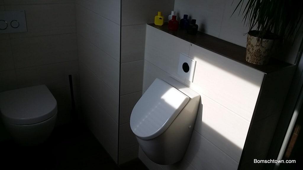 Urinal im Privathaus von Villeroy und Boch