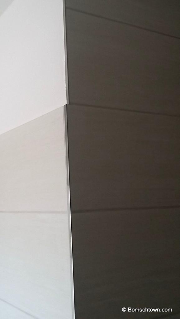 Gästebad rostfarben, Haupt-Bad in Betonoptik › Hausbau in