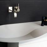 Herrliches Waschbecken, geniale Form