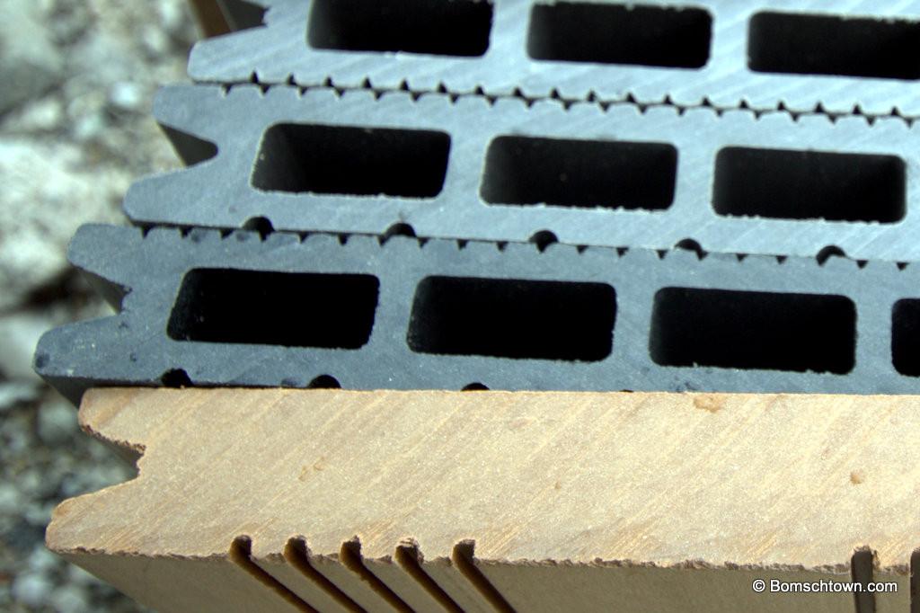 WPC Dielen im Detail