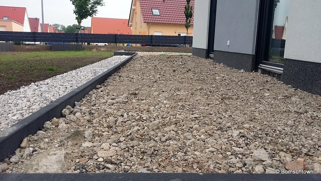 Terrassenunterbau