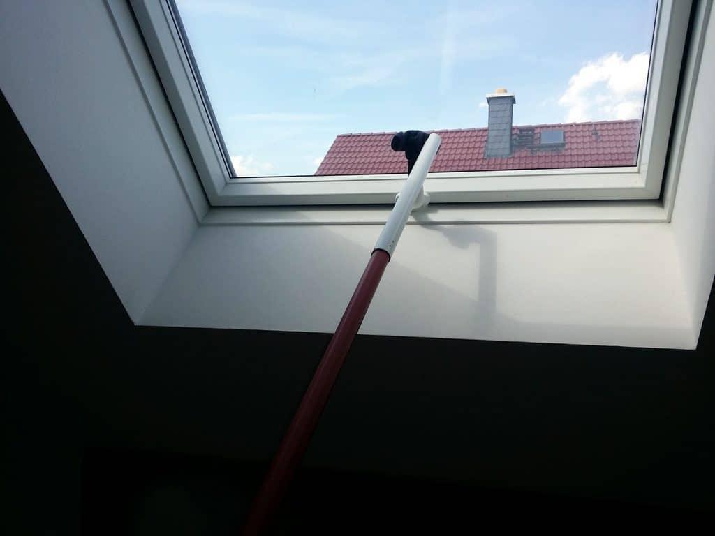 Dachfenster teleskopstange im selbstbau drehstock fernbedienung