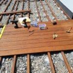 Werkzeug zum Terrassenbau