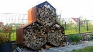 Unser Woodbee Holzunterstand