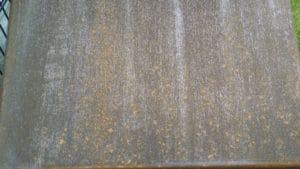 Cortenstahl-Rost nach 11 Tagen