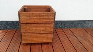 bambus-holzkuebel-detail