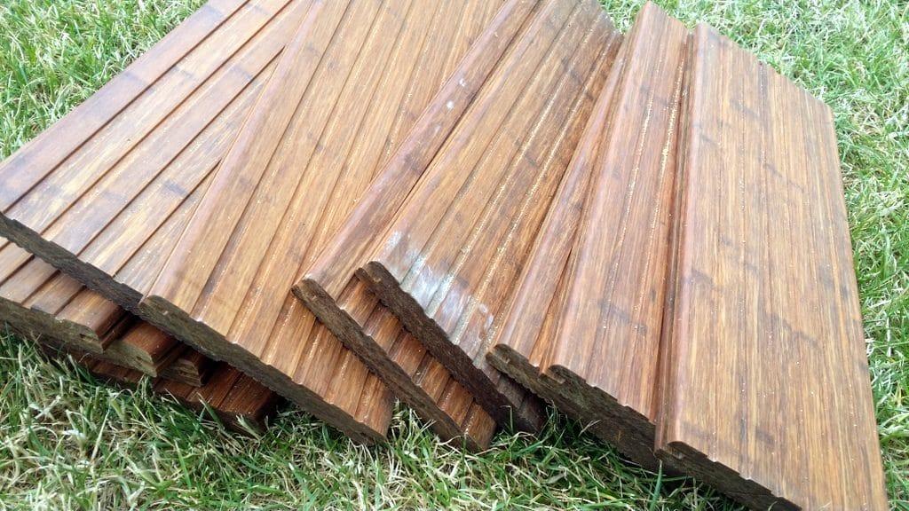 12 Bambusbretter 40cm lang