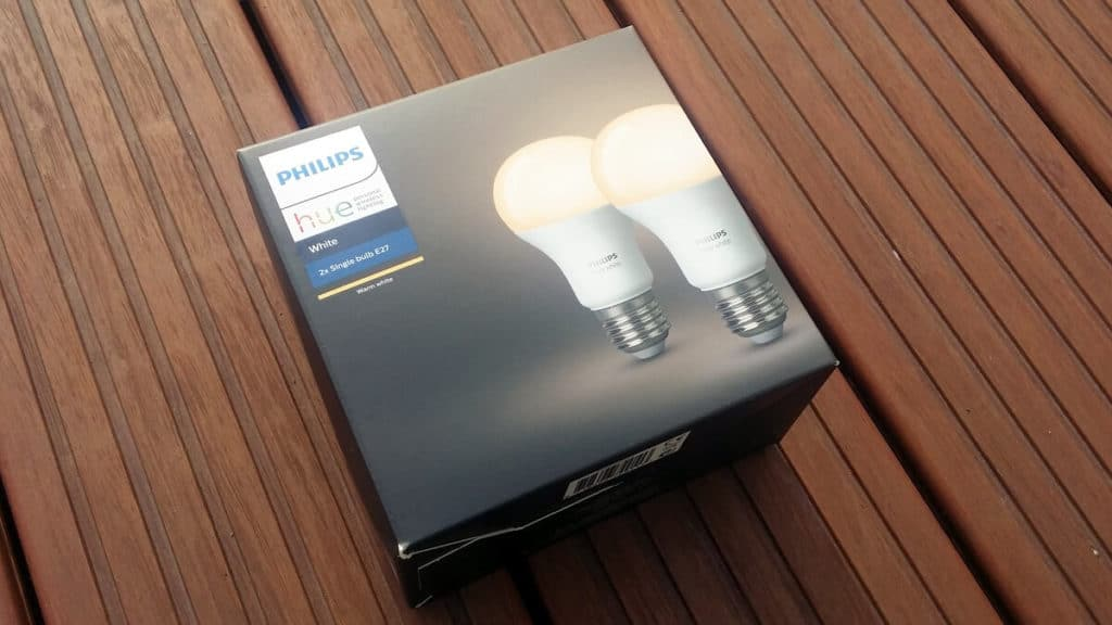 Verpackung Philips Hue White als E27